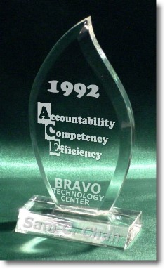 Bravo ACE Principles: Sam C. Chan 1992. Brockport, NY. (Sam Chan is the president and founder of Bravo Technology Center)